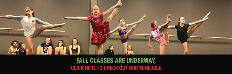 Fall Classes are underway, click here to check out our schedule